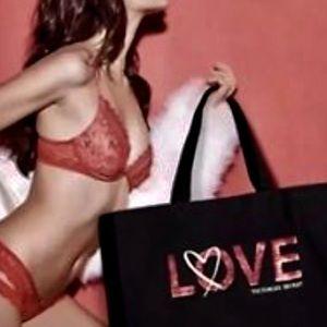 Victoria's Secret extra large canvas tote